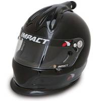 Impact - Impact Super Charger Top Air Helmet - X-Large - Black