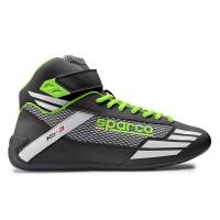 Karting Gear - Karting Shoes - Sparco - Sparco Mercury KB-3 Karting Shoe - Black/Green - Size 42