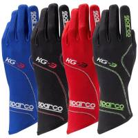 Kids Race Gear - Kids Racing Gloves - Sparco - Sparco Blizzard KG-3 Karting Glove