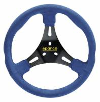 Cockpit & Interior - Sparco - Sparco K300 Karting Steering Wheel - Blue