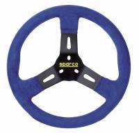 Sprint Car & Open Wheel - Sparco - Sparco R310 Karting Steering Wheel - Blue