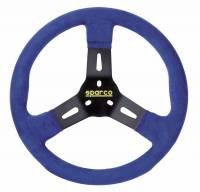Steering Wheels - Aluminum Competition Steering Wheels - Sparco - Sparco R310 Karting Steering Wheel - Blue