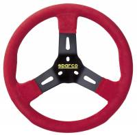 Sprint Car & Open Wheel - Sparco - Sparco R310 Karting Steering Wheel - Red