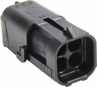 Electrical System - Electrical Connectors - Allstar Performance - Allstar Performance 4 Pin Square Weather Pack, Shroud Housing