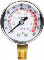 Analog Gauges - Air Pressure Gauges - Allstar Performance - Allstar Performance Replacement Gauge for Air Tanks