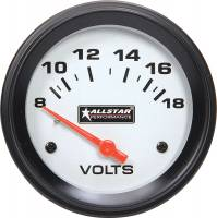 Analog Gauges - Voltmeters - Allstar Performance - Allstar Performance Allstar Volt Gauge 8-18V