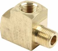"Gauge Parts & Accessories - Gauge Fittings & Adapters - Allstar Performance - Allstar Performance 1/8"" NPT Tee Gauge Fittings - 10 Pack"