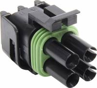 Electrical System - Electrical Connectors - Allstar Performance - Allstar Performance 4 Pin Square Weather Pack, Tower Housing - 10 Pack