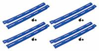 Body Installation Accessories - Body Braces - Allstar Performance - Allstar Performance Plastic Body Brace - Blue (Pack of 4)