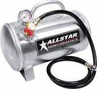 "Wheels & Accessories - Air Tanks - Allstar Performance - Allstar Performance Aluminum Air Tank, Horizontal 6"" x 12"", 1.5 Gallon"