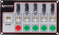 Switch Panels and Components - Switch Panels - Allstar Performance - Allstar Performance Fused Switch Panel