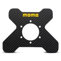 Steering Wheels & Accessories - Steering Wheel Accessories & Parts - Momo - Momo Carbon Plate 4P Carbon Fiber