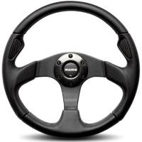 Street Performance / Tuner Steering Wheels - Momo Steering Wheels - Momo - Momo Jet Steering Wheel Leather / Airleather