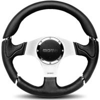Street Performance / Tuner Steering Wheels - Momo Tuner Steering Wheels - Momo - Momo Millenium Steering Wheel Leather / Airleather