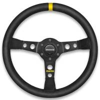 Competition Steering Wheels - Steel - Undersized Steel Steering Wheels - Momo - Momo MOD 07 Steering Wheel - Leather