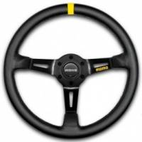 Steering Wheels - Steel Competition Steering Wheels - Momo - Momo MOD 08 Steering Wheel - Leather