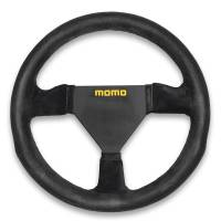 Competition Steering Wheels - Steel - Undersized Steel Steering Wheels - Momo - Momo MOD 11 Steering Wheel - Suede