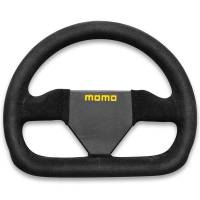Competition Steering Wheels - Steel - Undersized Steel Steering Wheels - Momo - Momo MOD 12 Steering Wheel - Suede