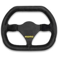 Competition Steering Wheels - Steel - Undersized Steel Steering Wheels - Momo - Momo MOD 29 Steering Wheel - Suede