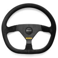 """Competition Steering Wheels - Steel - 13"""" Steel Steering Wheels - Momo - Momo MOD 88 Steering Wheel - Suede"""