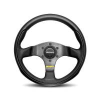 Street Performance / Tuner Steering Wheels - Momo Steering Wheels - Momo - Momo Team Steering Wheel Leather/Airleather Insrt