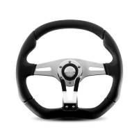 Street Performance / Tuner Steering Wheels - Momo Steering Wheels - Momo - Momo Trek R Steering Wheel Leather / Airleather