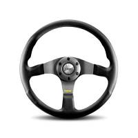 Street Performance / Tuner Steering Wheels - Momo Tuner Steering Wheels - Momo - Momo Tuner Steering Wheel Leather