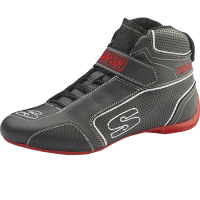 Simpson Racing Shoes - Simpson DNA Shoe - $199.95 - Simpson Race Products - Simpson DNA Shoe - Black/White