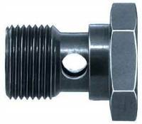 "Brake Fittings, Lines and Hoses - Banjo Brake Adapter Bolts - Aeroquip - Aeroquip Steel 3/8""-24 Banjo Bolt"