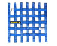 "Window Nets - Mesh Window Nets - Schroth Racing - Schroth 16"" x 16"" Window Net - Blue"