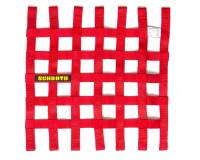 "Window Nets - Mesh Window Nets - Schroth Racing - Schroth 16"" x 16"" Window Net - Red"