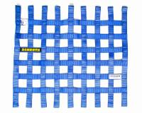 "Window Nets - Mesh Window Nets - Schroth Racing - Schroth 20"" x 18.5"" Window Net - Blue"