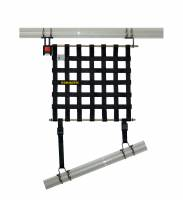 "Safety Equipment - Schroth Racing - Schroth 16"" x 16"" Window Net Kit w/Mounting Hardware - Red"