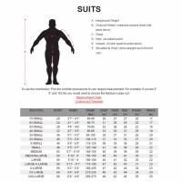 K1 RaceGear Suit Sizing Chart