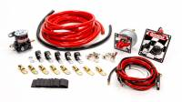 Ignition & Electrical System - Fuses & Wiring - QuickCar Racing Products - QuickCar Wiring Kit 4 Gauge w/ 50-102 Panel