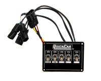 Switch Panels - QuickCar Switch Panels - QuickCar Racing Products - QuickCar ICP Single Box Black Dual Trigger