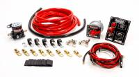 Electrical Wiring and Components - Race Car Wiring Kits - QuickCar Racing Products - QuickCar Wiring Kit 2 Gauge w/ Black 50-853 Panel