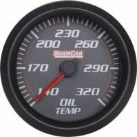 Dash Gauge Panels - 2 Gauge Dash Panels - QuickCar Racing Products - QuickCar Redline Trans Temp Gauge