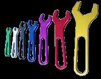 Fittings & Hoses - Triple X Race Co. - Triple X AN Aluminum Wrench Set