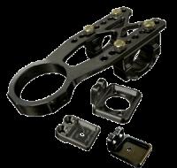 Steering - SteeringBox Mounts - Triple X Race Co. - Triple X Clamp On Top Steering Mount Adjustable
