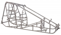 Sprint Car Chassis - Sprint Car Chassis Kits w/ Body - Triple X Race Components - Triple X Sprint Car Kit B X-Wedge White Inside Rail Body