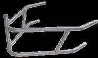 Sprint Car Bumpers & Nerfs - Sprint Front Bumpers - Triple X Race Components - Triple X Sprint Car Rear Bumper w/ Post - 4130 Chromoly - Black