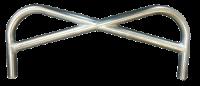 Sprint Car Bumpers & Nerfs - Sprint Front Bumpers - Triple X Race Components - Triple X Sprint Pretzel Style Front Bumper - Polished Stainless Steel