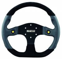Street Performance / Tuner Steering Wheels - Sparco Steering Wheels - Sparco - STRWHL L999 MUGELLO BLK/BLK/BL