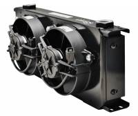 Setrab - Setrab 9-Series Oil Cooler -20 Row w/ Dual 12 Volt Fans