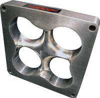 "HVH - High Velocity Heads - HVH 1"" Tall Aluminum Super Sucker Carburetor Spacer for Dominator - Cloverleaf Manifold"
