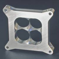 "HVH - High Velocity Heads - HVH 1.25"" Tall L/W Aluminum Super Sucker Carburetor Spacer for 4150 Series Carburetors"