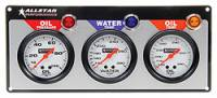 "Dash Gauge Panels - 3 Gauge Dash Panels - Allstar Performance - Allstar Performance 3 Gauge Panel (OP/WT/OT) - 2-5/8"" Gauges"