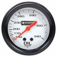 "Gauges - Oil Temp Gauges - Allstar Performance - Allstar Performance Oil Temperature Gauge - 2-5/8"" Diameter - 140-280F"