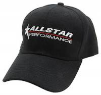 Crew Apparel - Allstar Performance - Allstar Performance Hat - Black - Velcro Back